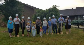 Family engagement grand prize Walnut Hill groundbreaking